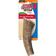 KONG Wild Whole Elk Antler Dog Chew, Large