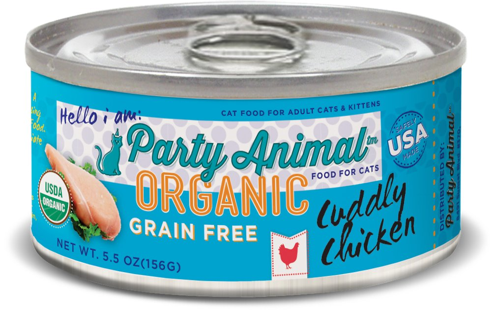 Cat Wet Food Party Animal