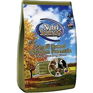 NutriSource Grain-Free Small Breed Chicken Formula Dry Dog Food, 15-lb bag