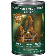 Pinnacle Grain-Free Chicken & Vegetable Recipe Canned Dog Food, 13-oz, case of 12