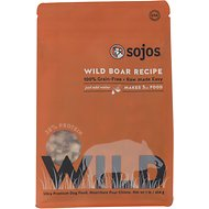 Sojos Wild Boar Recipe Grain-Free Freeze-Dried Dog Food, 1-lb bag