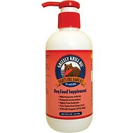 Grizzly Krill Oil Dog Food Supplement, 8-oz bottle