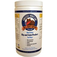 Grizzly Joint Aid Hip & Joint Support Pellets Dog Supplement, 10-oz bottle