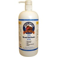 Grizzly Joint Aid Hip & Joint Support Liquid Dog Supplement, 32-oz bottle