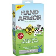 Bags on Board Hand Armor Extra Thick Pick-Up Bags, 100 count