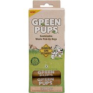 Bags on Board Green Pups Waste Pick-up Refill Bags, 120 count