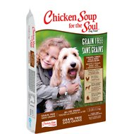 Chicken Soup for the Soul Chicken, Turkey & Pea  & Sweet Potato Recipe Grain-Free Dry Dog Food, 4-lb bag