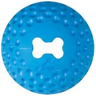 Rogz Gumz Treat Ball Dog Toy, Color Varies, Medium