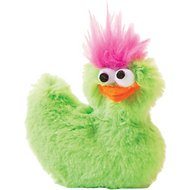 West Paw Design Li'l Rooster Dog Toy, Lime