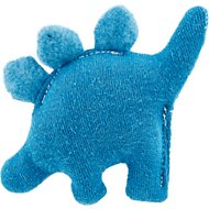 West Paw Dino Mini Dog Toy, Blue