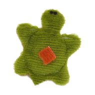 West Paw Tiny Turtle Dog Toy, Kiwi