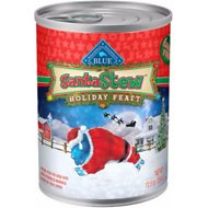 Blue Buffalo Santa Stew Holiday Feast Grain-Free Canned Dog Food, 12.5 oz, case of 12