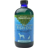 Animal Essentials Ocean Supreme Fish Oil Dog & Cat Supplement, 16-oz bottle