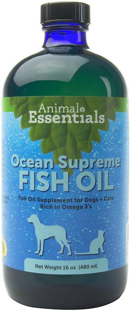 Animal essentials ocean supreme fish oil dog cat for Dog food with fish oil