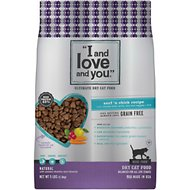 I and Love and You Nude Food Surf 'n Chick Grain-Free Dry Cat Food, 5-lb bag