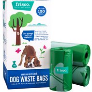 Frisco Refill Dog Poop Bags, Unscented, 120 count