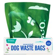 Frisco Pantry Pack Dog Poop Bags, Unscented, 300 count