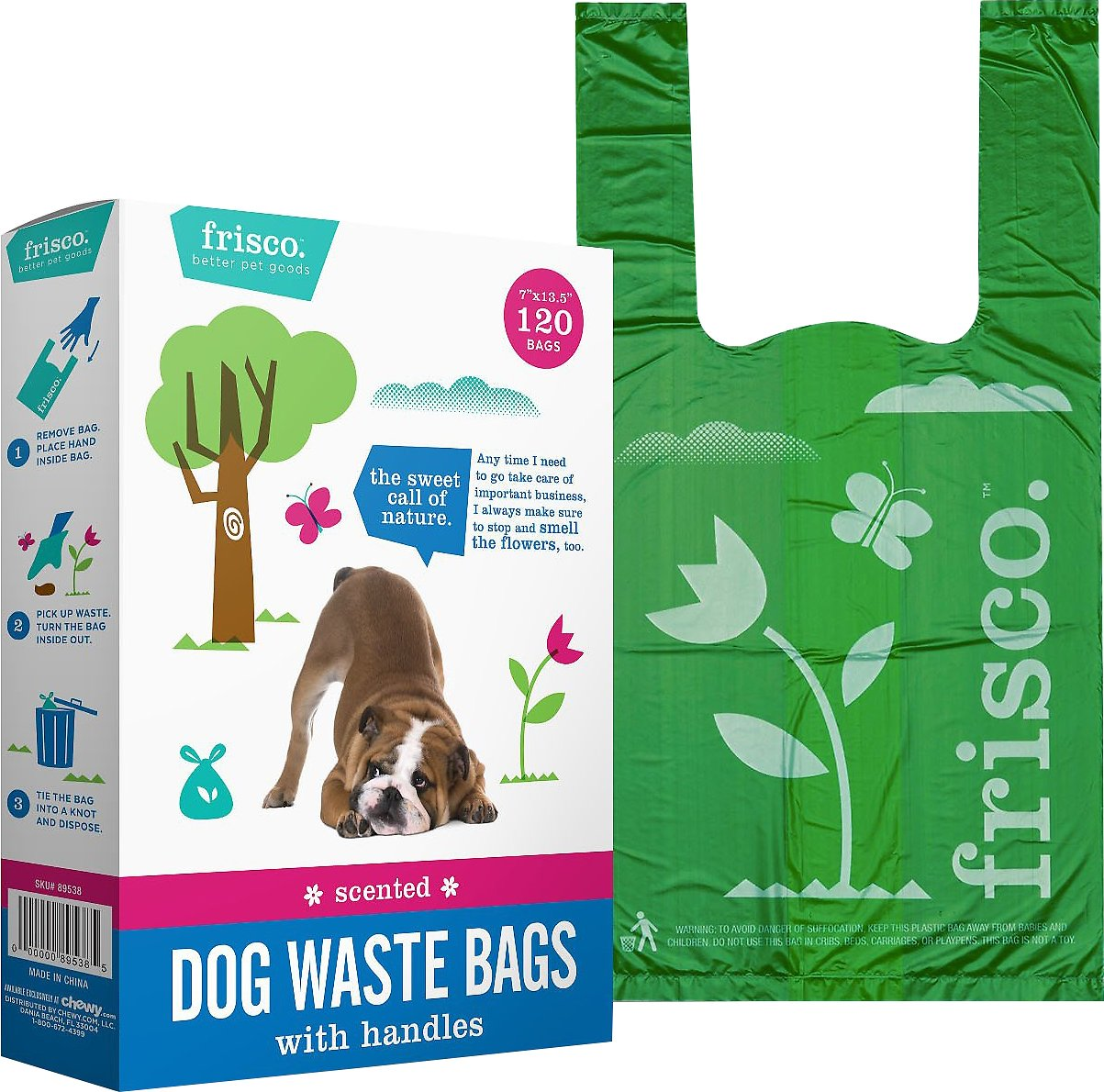 picture Frisco Refill Planet Friendly Dog Poop Bag, Scented, 270 count