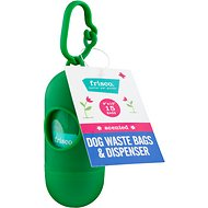 Frisco Dog Poop Bags + Dispenser, Scented, 15 count