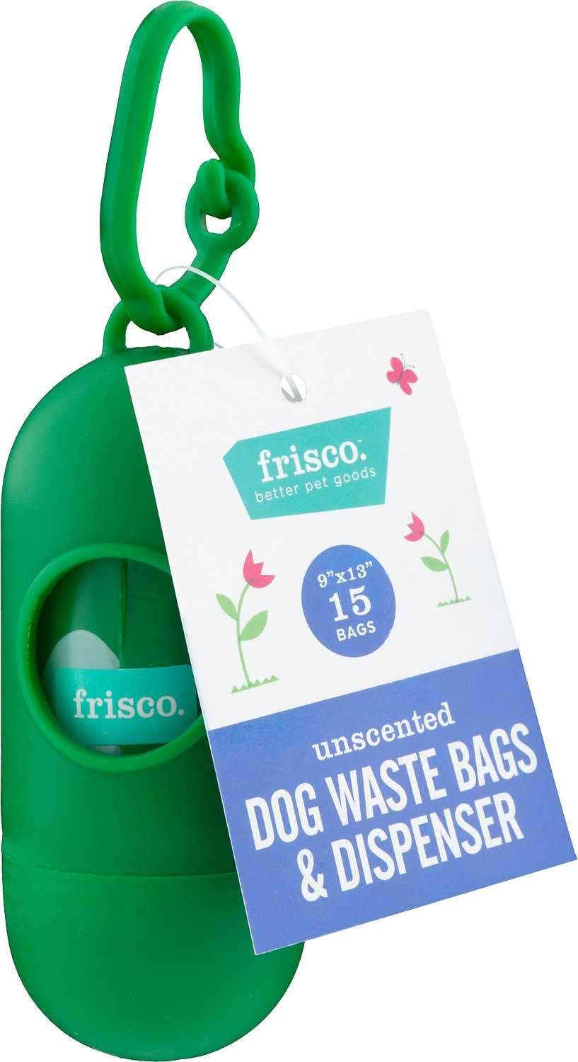 Frisco Dog Bags Dispenser Unscented 15 Count