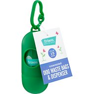 Frisco Dog Poop Bags + Dispenser, Unscented, 15 count