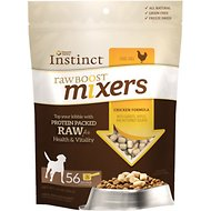 Instinct by Nature's Variety Raw Boost Mixers Grain-Free Chicken Recipe Freeze-Dried Dog Food Topper, 14-oz bag