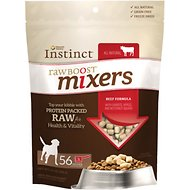 Nature's Variety Instinct Raw Boost Mixers Beef Formula Freeze-Dried Dog Food Topper, 14-oz bag