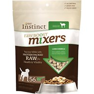 Nature's Variety Instinct Raw Boost Mixers Lamb Formula Freeze-Dried Dog Food Topper, 14-oz bag