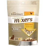 Instinct by Nature's Variety Raw Boost Mixers Grain-Free Chicken Recipe Freeze-Dried Cat Food Topper, 6-oz bag