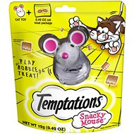 Temptations Snacky Mouse Cat Treat Toy, 0.42-oz treat pack