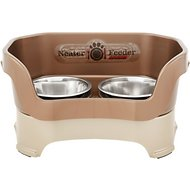 Neater Feeder Elevated Dog Bowls, Bronze, Medium