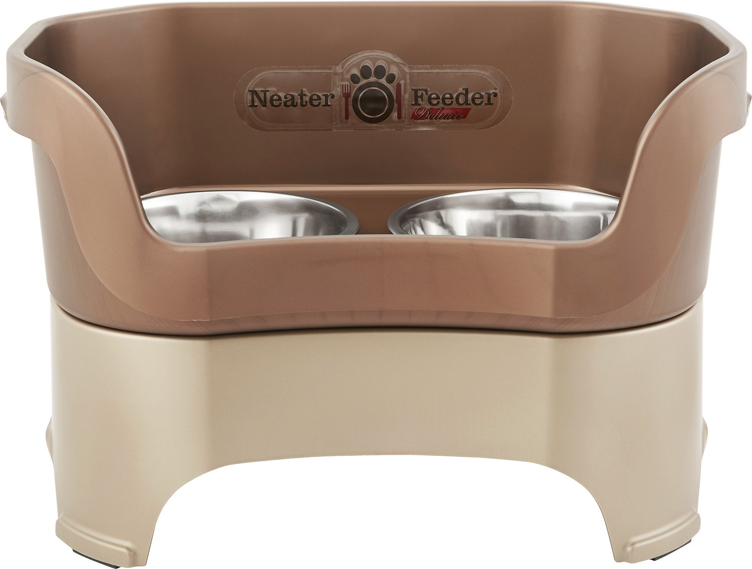 Neater Feeder Elevated Dog Bowls, Bronze, Large - Chewy.com