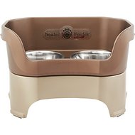 Neater Feeder Elevated Dog Bowls, Bronze, Large