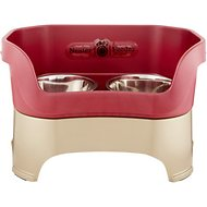 Neater Feeder Elevated Dog Bowls, Cranberry, Large