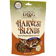 Exclusively Dog Harvest Blends Sweet Potato Flavor Dog Treats, 7-oz bag