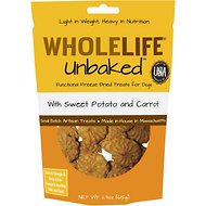 Whole Life Unbaked Sweet Potato & Carrot Flavor Freeze-Dried Dog Treats, 2.3-oz bag