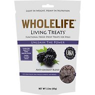 Whole Life Living Treats Antioxidant Blend with Wild Berries Freeze-Dried Dog Treats, 2.3-oz bag