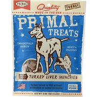 Primal Turkey Liver Munchies Freeze-Dried Dog & Cat Treats, 2-oz bag