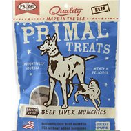Primal Beef Liver Munchies Freeze-Dried Dog & Cat Treats, 2-oz bag