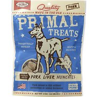 Primal Pork Liver Munchies Freeze-Dried Dog & Cat Treats, 2-oz bag