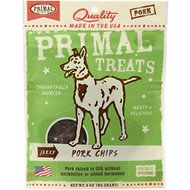 Primal Jerky Pork Chips Dog Treats, 3-oz bag