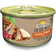 Under the Sun Grain-Free Chicken Pate Canned Cat Food, 3-oz, case of 12