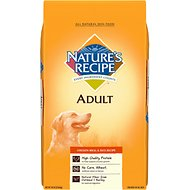 Nature's Recipe Adult Chicken Meal & Rice Recipe Dry Dog Food, 15-lb bag