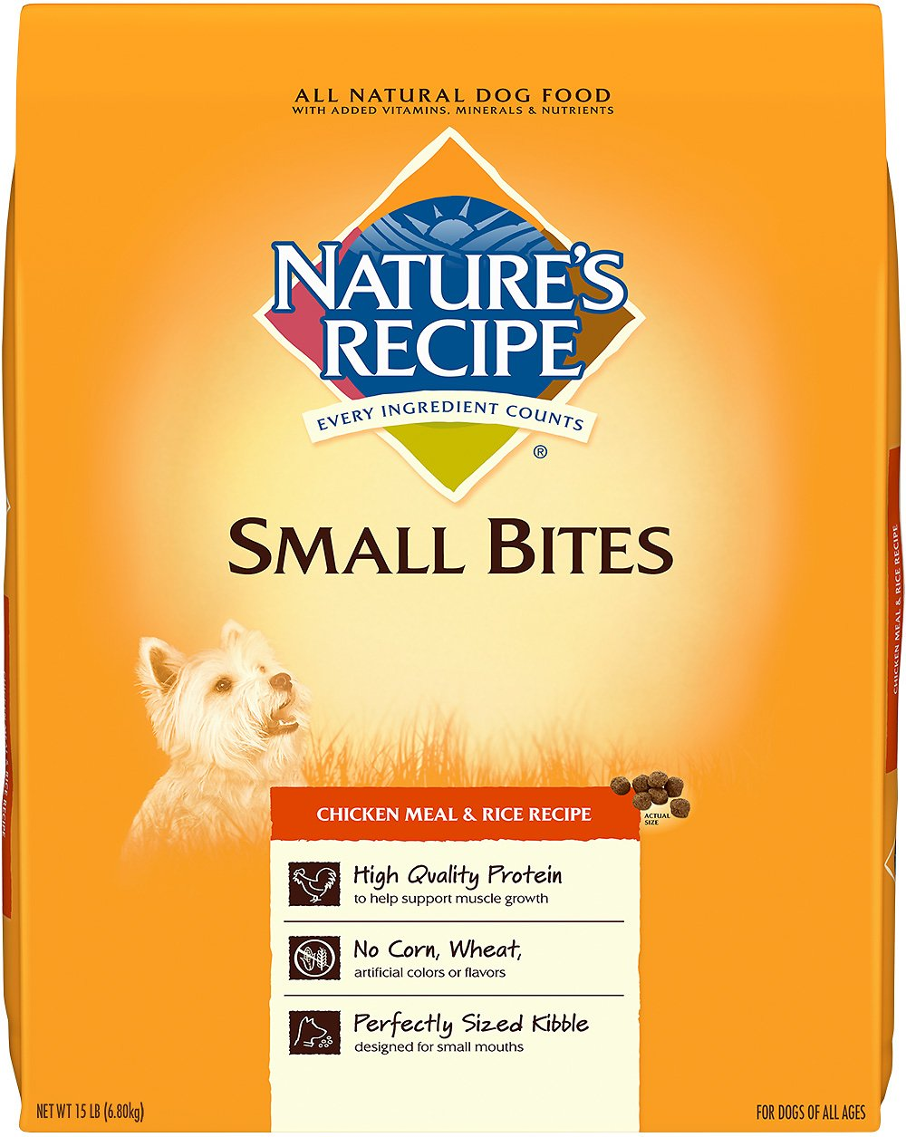 Extra Small Bites Dog Food