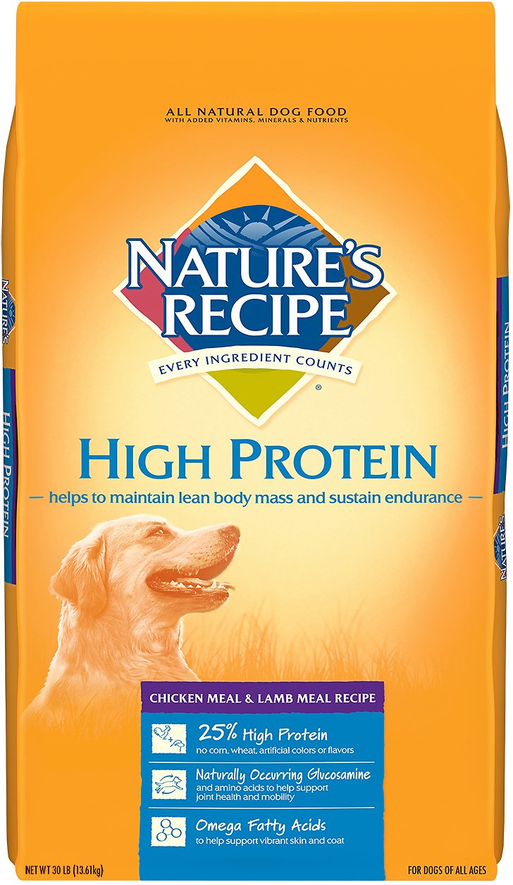 Nature S Select High Protein Dog Food