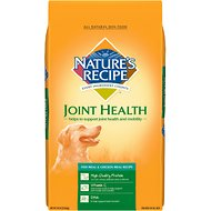 Nature's Recipe Joint Health Fish Meal & Chicken Meal Recipe Dry Dog Food, 30-lb bag