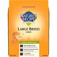 Nature's Recipe Large Breed Adult Chicken & Oatmeal Recipe Dry Dog Food, 30-lb bag