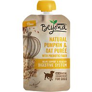 Purina Beyond Natural Pumpkin & Oat Puree Dog Food Topper, 3.2-oz pouch, case of 14