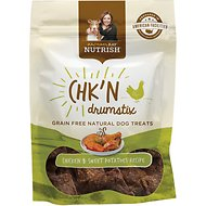 Rachael Ray Nutrish Grain-Free Chk'n Drumstix Chicken & Sweet Potato Recipe Dog Treats, 3-oz bag