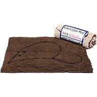 Dog Gone Smart Cat Litter Mat, Brown